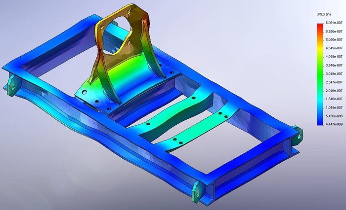 Solidworks Cosmos Works - Machine Design Applications, Fatigue Analysis, Simulation Professional, Durability Analysis, High Cycle Fatigue Applications, Failure Prediction Analysis, Remaining Life Prediction Analysis