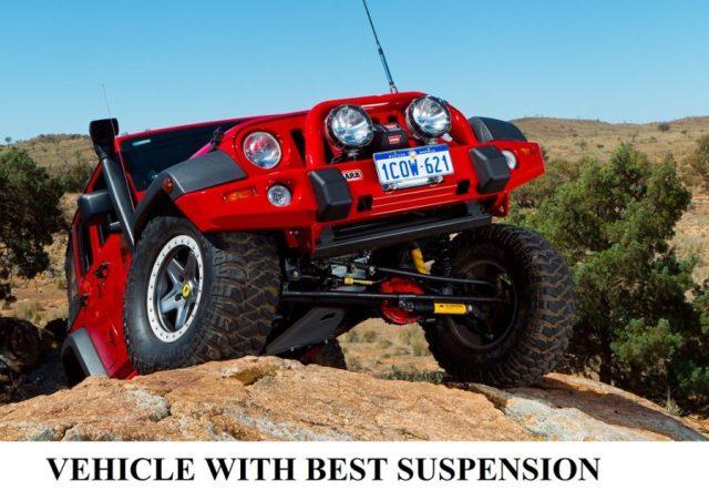 Vehicle with best suspension - Good suspension system of a vehicle - Torsion Beam suspension - Torsion bar assembly for vehicle suspension system