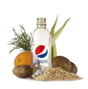 PepsiCo Develops World's First 100 Percent Plant Based Renewably Sourced PET Plastic Free Bottle