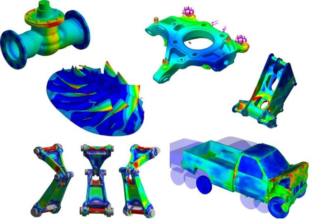 9a5d8 01 list of industries using fea fea model fea data reference model FEA Finite Element Analysis
