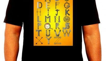01-Mechanical engineer t shirt design - Mechanical alphabets