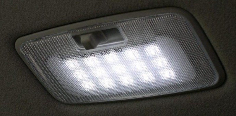 01-cabin backlight control-LED cabin lighting system-Ambient light sensor-Panel with LED Light