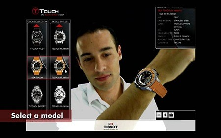 01-tissot_printscreen_augmented_reality-watch selection using Virtual environment technology-real life photos
