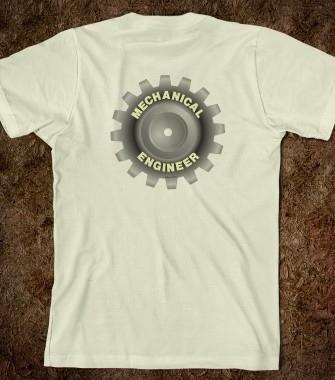 02-Mechanical Engineering Themed Gift Designs-Gears-T Shirt Logo