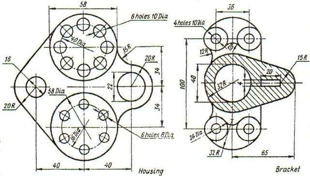 01-autocad drawings-design-exercises