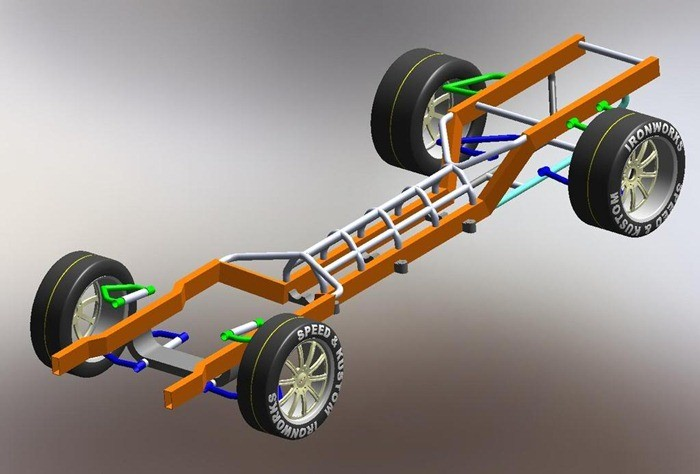 solidworks-modeling-design-challenges-in-the-automotive-sector-frame-work-done-in-solidworks