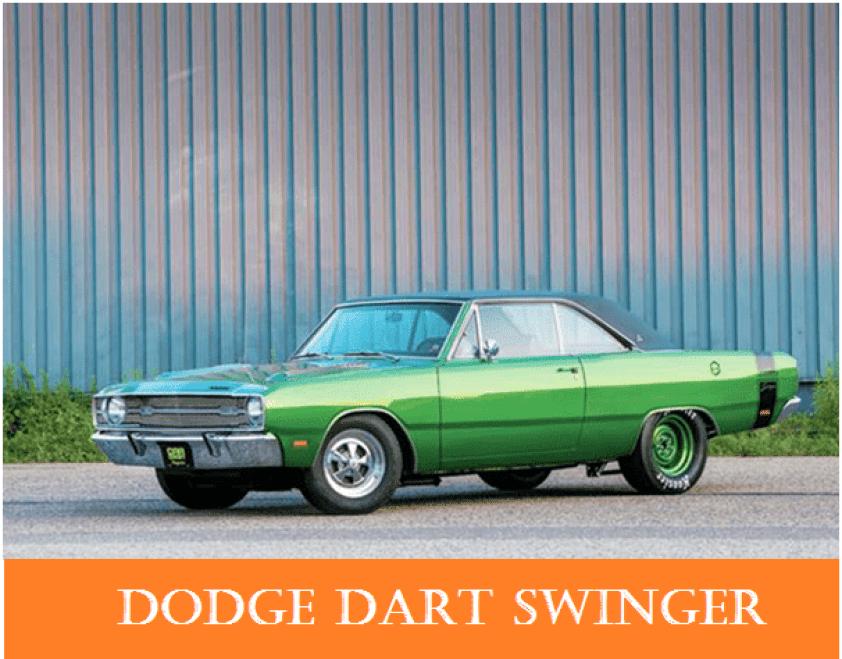 01 1960s vintage personal cars dodge dart swinger Alfa romeo spider Automobile Engineering 1960s Vintage Personal Cars