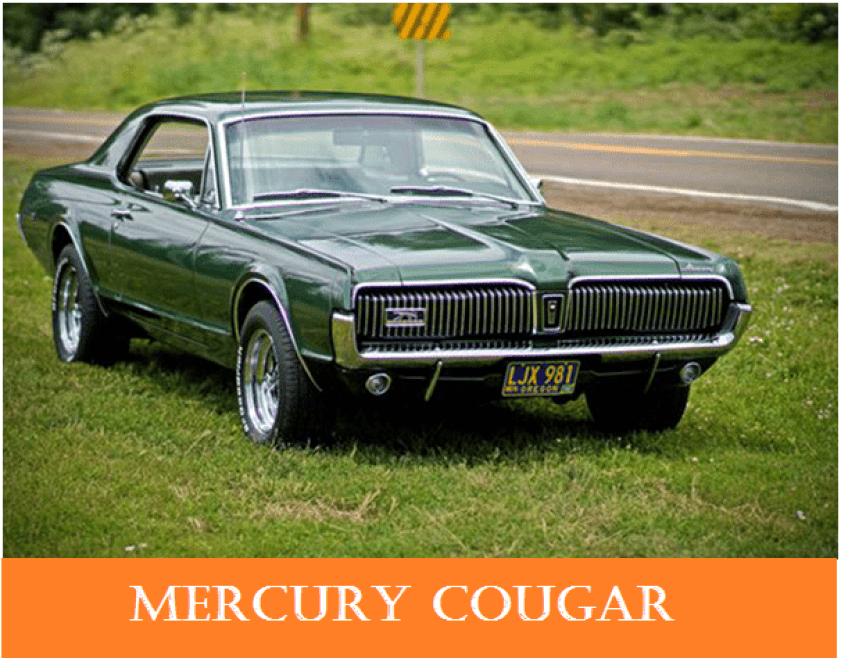 01 1960s vintage personal cars mercury cougar Alfa romeo spider Automobile Engineering 1960s Vintage Personal Cars