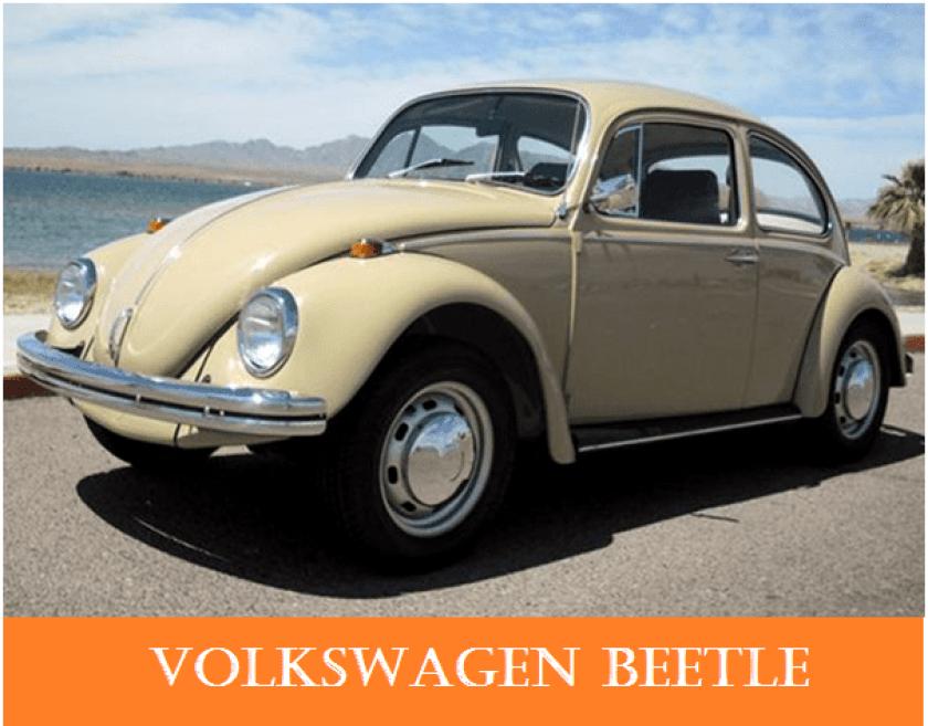 01 1960s vintage personal cars volkswagen beetle Alfa romeo spider Automobile Engineering 1960s Vintage Personal Cars
