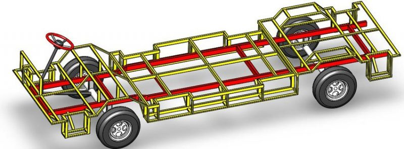 01-Types Of Chassis Frames - Sub-Frames-Side Members And Cross Members Of Automobile Chassis