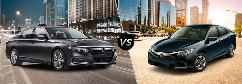 Differences Between 2018 Honda Accord And 2018 Civic