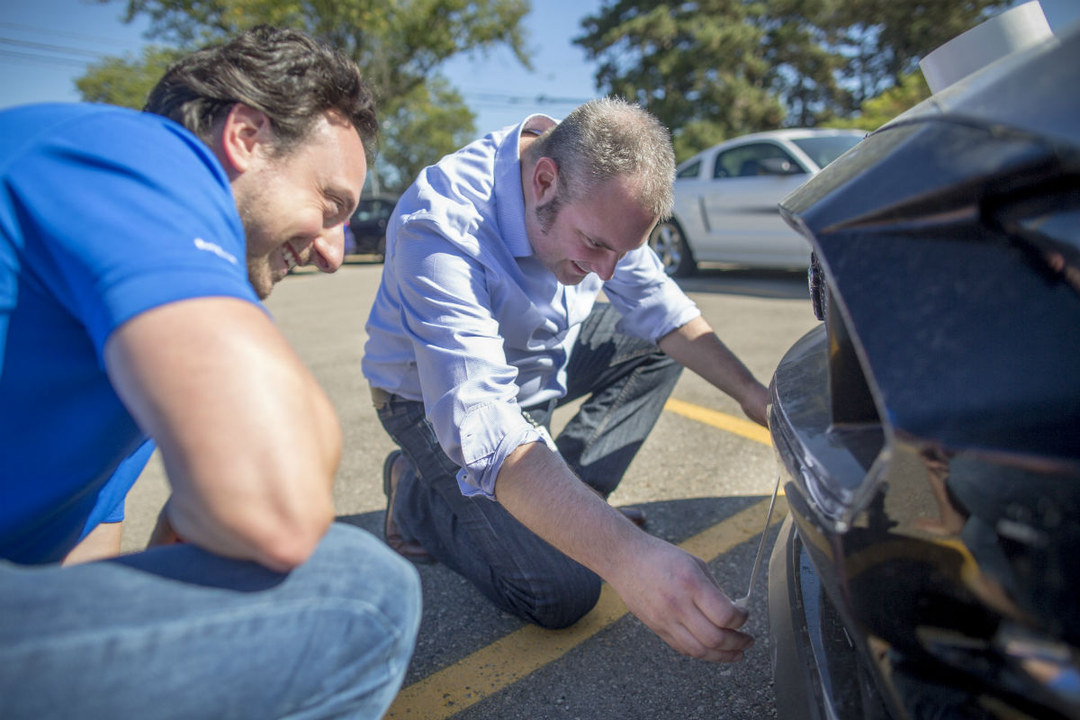 Strip Of Duct Tape Improves Mustang Handling And Gas Mileage