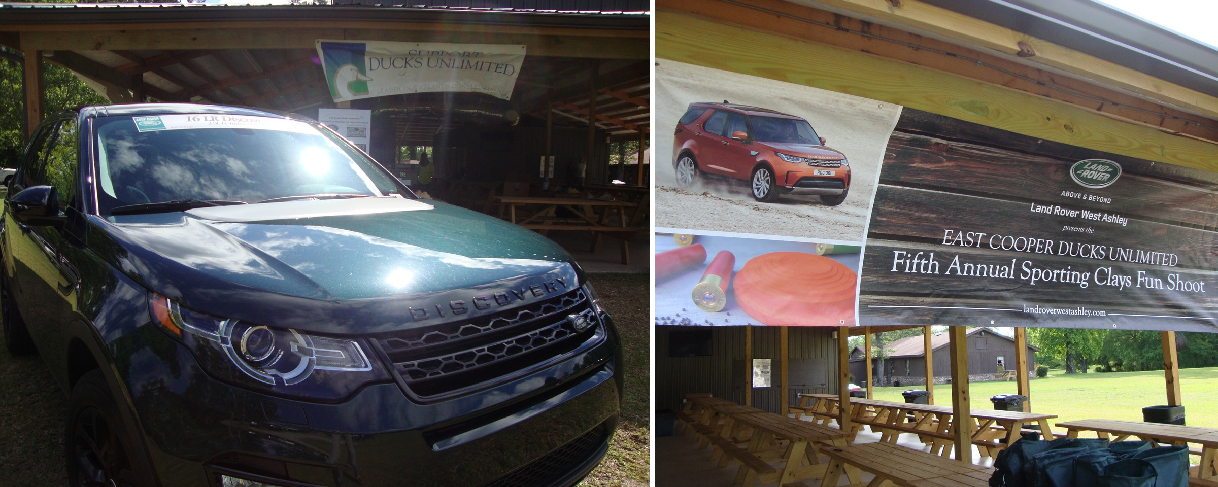 Land Rover West Ashley Supports East Cooper Ducks Unlimited Fifth