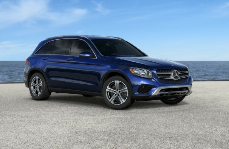 2017 Mercedes Benz GLC SUV In Brilliant Blue Metallico