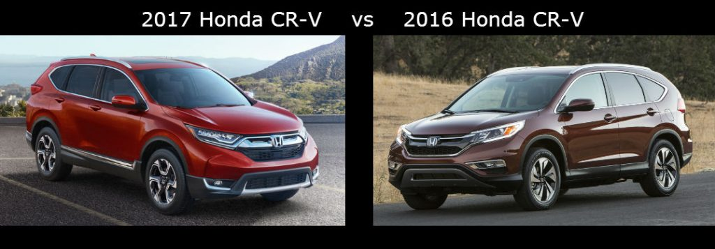 Compare The 2017 Honda Cr V Vs The 2016 Honda Cr V