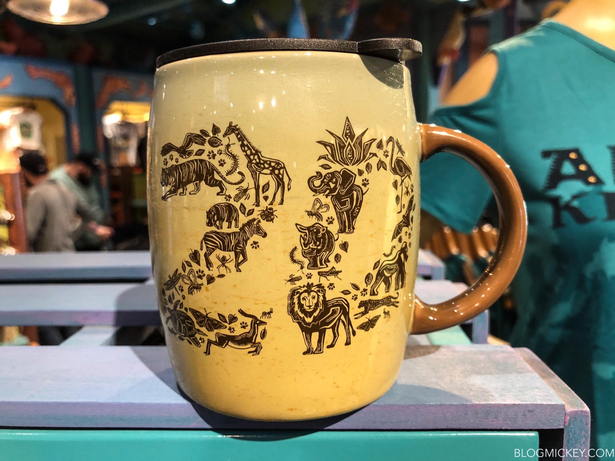 NEW Disney Parks Animal Kingdom 20th Anniversary Coffee Mug Travel with Lid