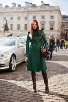 baixinha pode usar casaco comprido e bota de cano alto