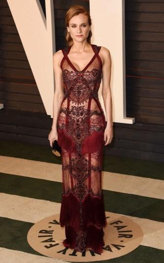 Diane Kruger de Reem Acra - apaixonante