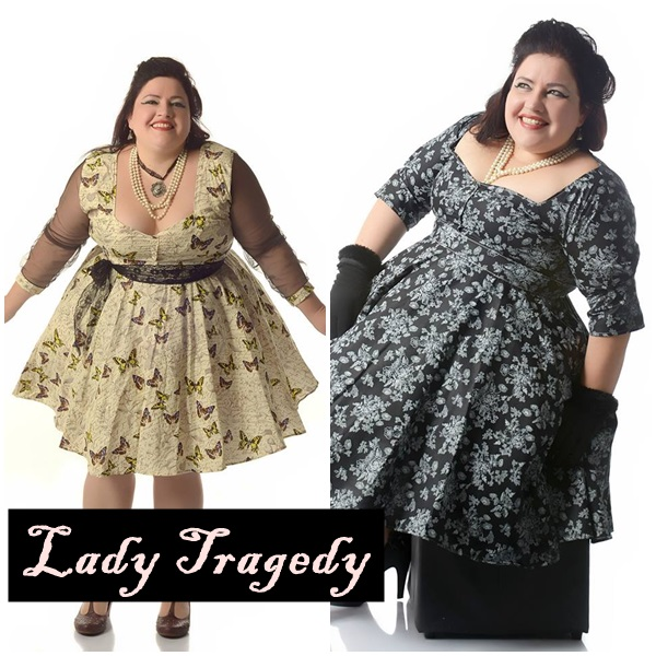 lady tragedy pinup