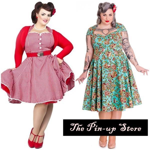 vestido pinup plus size 2