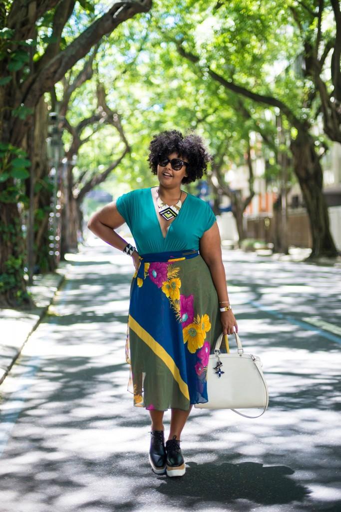 blogueira negra plus size 2