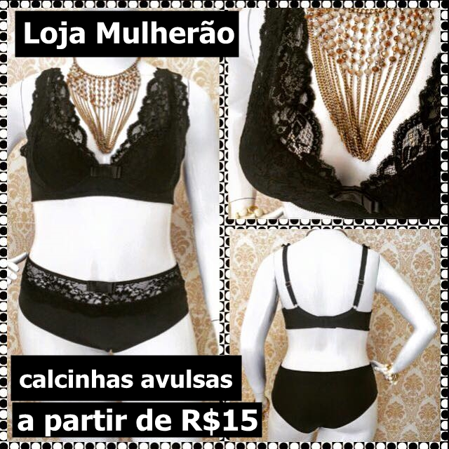 calcinha bazar plus size do blog mulherao