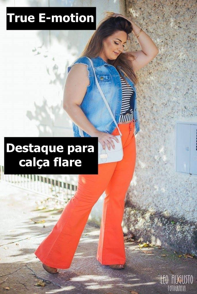 destaque calça flare bazar plus size do blog mulherão