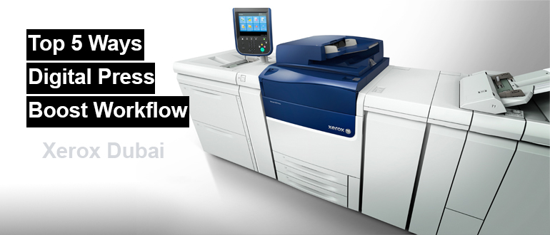 Digital Press Contributes to Improved Workflow