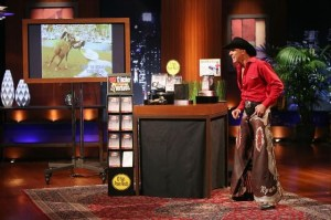 Rodeo Cowboy with Killer Abs on Sharktank