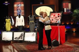 Shoe Deal on Shark Tank - Daymond Helps Out a Jessica and her quick change shoes Courtesy ABC