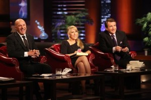 Kevin O'Leary, Lori Greiner and Robert Herjavec courtesy ABC