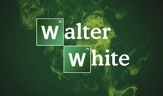 Walter's Last Poster hint is Say My Name.  Make your name look like Walter White