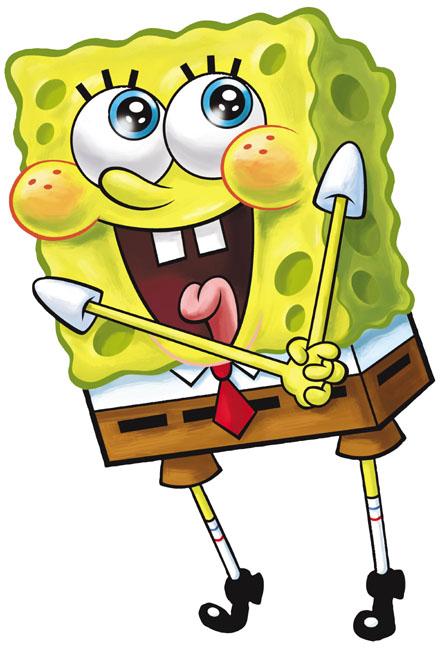 spongebob happy