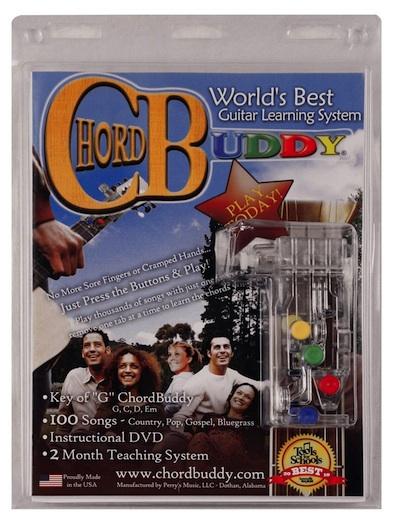 chordbuddy worlds' learning guitar