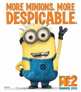 Descipable Me 2 More Minions