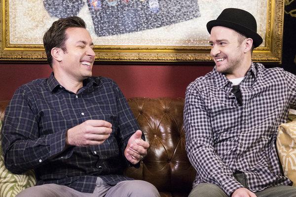 Hashtag Justin Timberlake and Jimmy Fallon #Viral