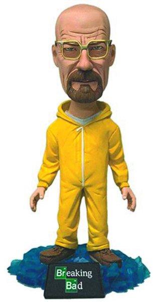 Walter White Bobble Head Hazmat suit