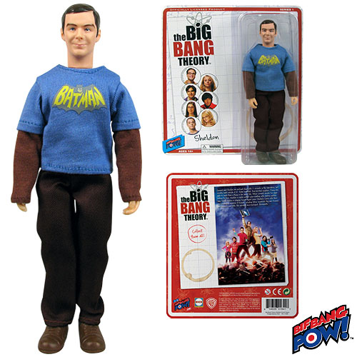 Very cool Sheldon Action Figure Brand New