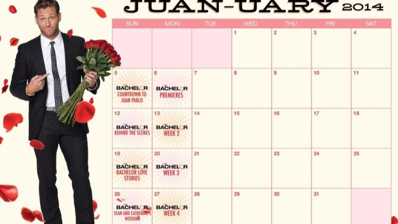 Juanuary is for Juan Pablo