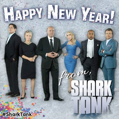 Happy New Year from the Sharks