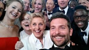 Oscar Selfie by Ellen