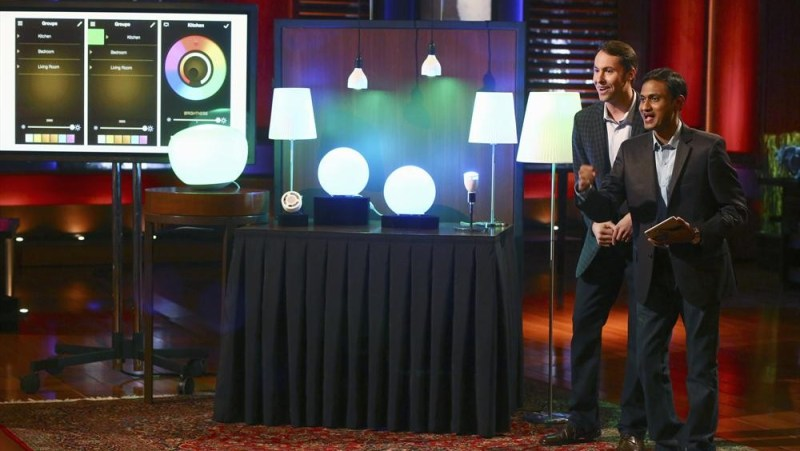 Ilumi lights on Shark Tank