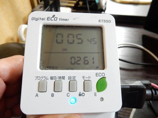 100V 60Hzの方が、消費電力下がってる!