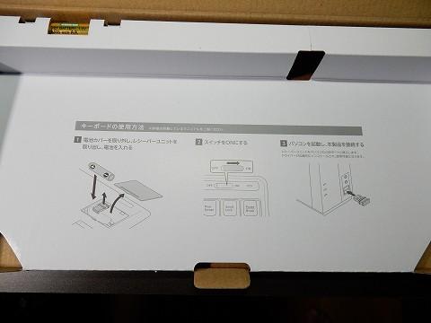 箱の底に、接続方法とかが図解されてました。
