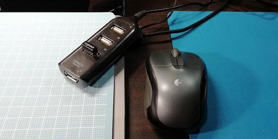 無線マウス、使えました。