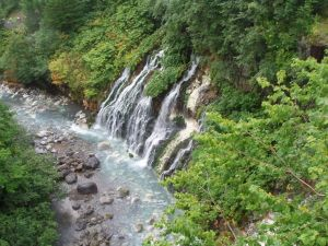 Хоккайдо Водопад