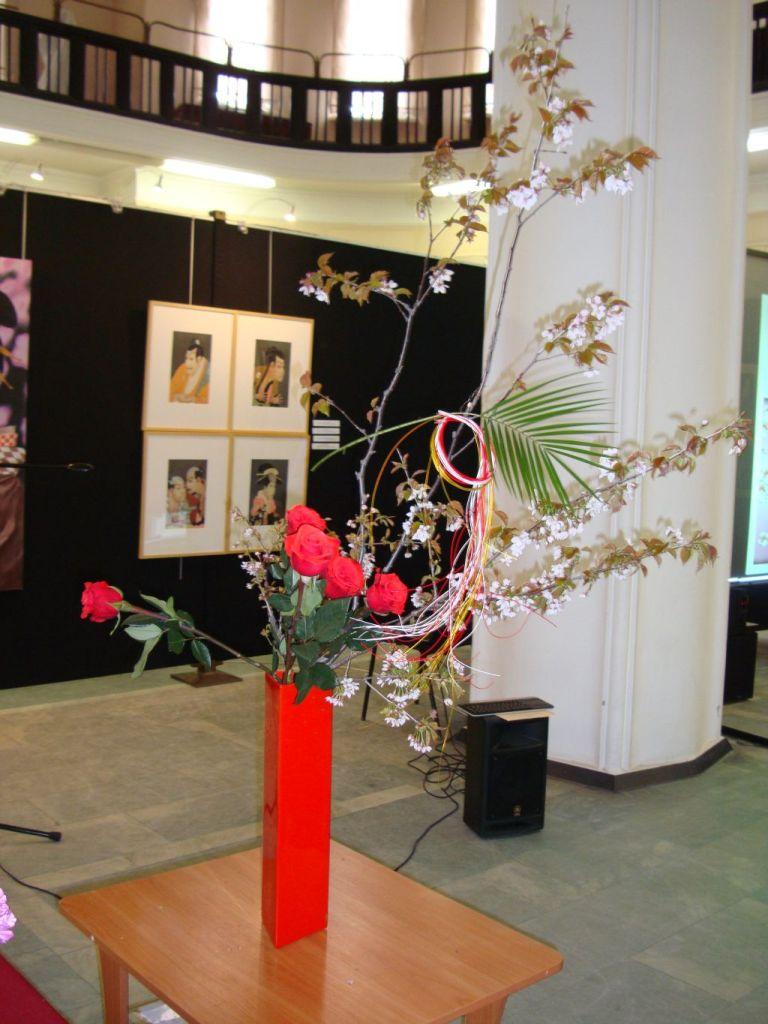 Икебана в подарок музею