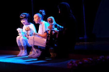 Театр кукол. Песенка ёжика и медвежонка.
