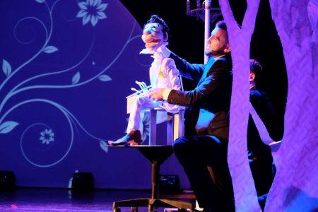 Театр кукол. Аполлон Поролонович.