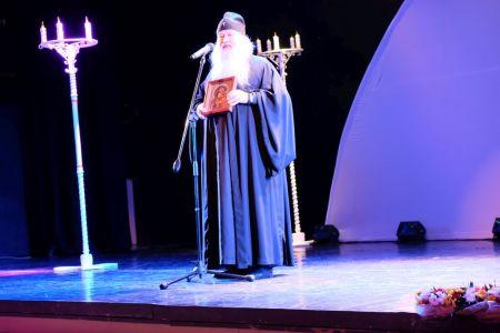 Театр кукол. Отец Тихон.